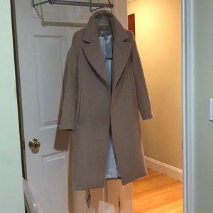 New H&M camel coat